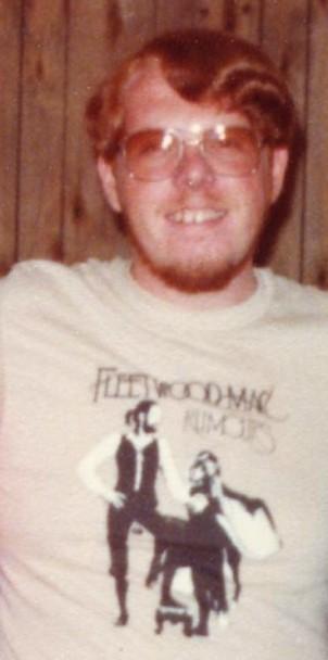 A devoted fan, circa 1977