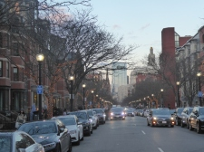 Newbury Street, Back Bay, Boston