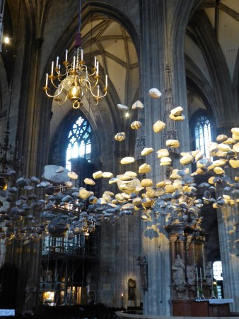 """The beautiful art piece """"Sky of Stones"""" at St. Stephen's Cathedral in Vienna"""