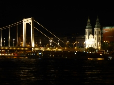 The Elizabeth Bridge, looking toward the Pest side of the city