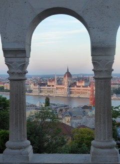 View of the Parliament Building from Fisherman's Bastion
