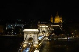 Chain Bridge from the funicular
