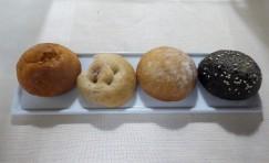 warm assorted mini dinner rolls