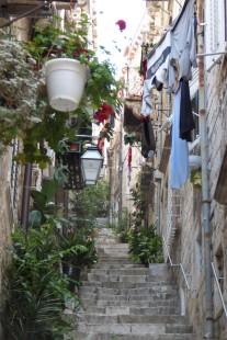 "Colorful side ""streets"" of Dubrovnik"
