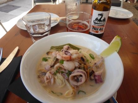 Seafood Laksa. An A+!