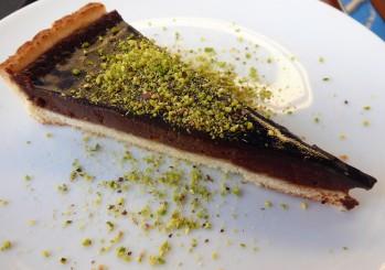 Chocolate and Pistachio Torte