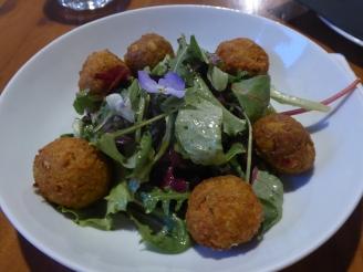 Chickpea Kefka Salad