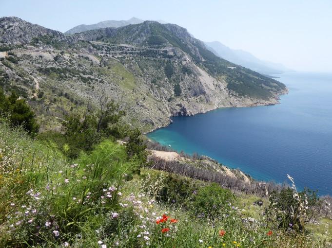 The Croatian Coast north of Dubrovnik