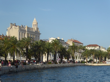 The waterfront at Split