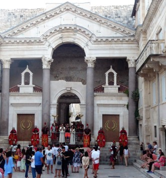 An event at Diocletian's Palace