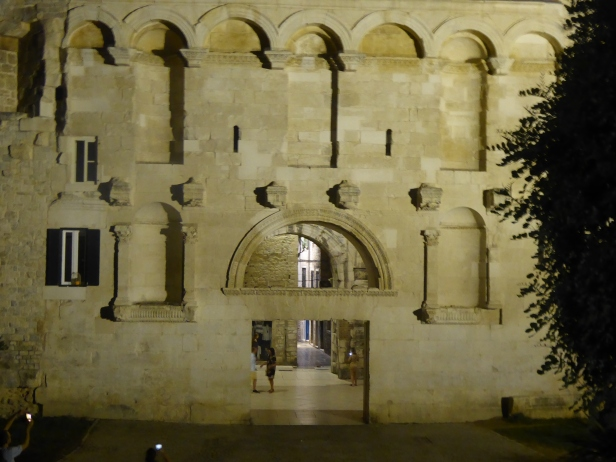 The gate to Diocletian's Palace