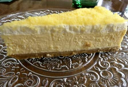 Lemon Cheesecake at Langanini