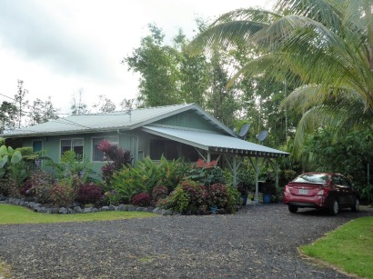 My little oasis in Kea'au..