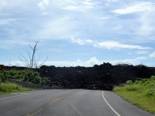 The end of the road now; no more access to Kapoho