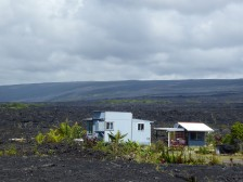 New home atop the lava flows