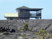 Another new construction out on the lava near Kalapana