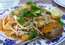 Pad Thai fit for Pele at Ning's. Pahoa