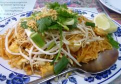 Pad Thai fit for Pele at Ning's. Pahoa