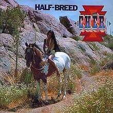 """The cover of """"Half Breed"""""""