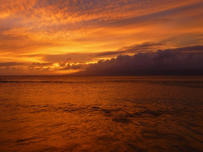 Napili Sunset Orange