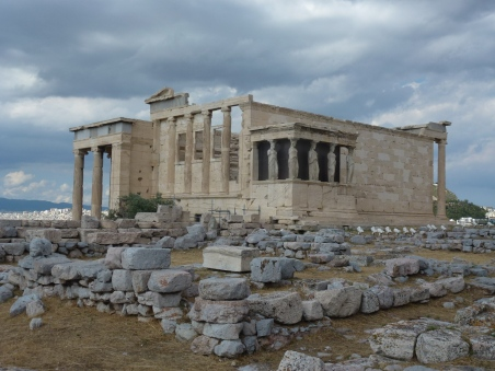 The Temple of Athena Nike on the Acropolis