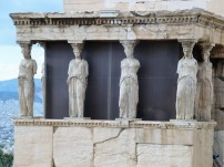The famous Caryatid figures