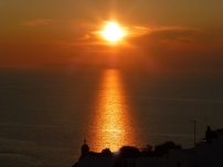 The reward for braving Oia's sunset crowds