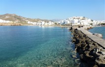 The Naxos Town Waterfront