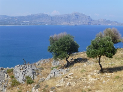 Some of my first views of Rodos