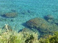 A beach on Mykonos, Greece