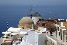 Oia, the end of the trail