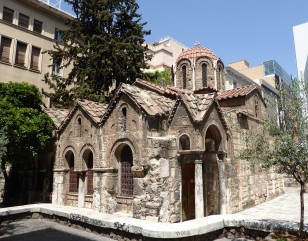 The Byzantine church of Panagia Kapnikarea