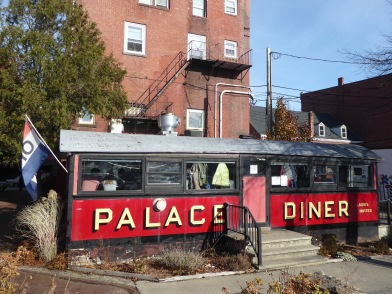 The adorable and cozy Palace Diner