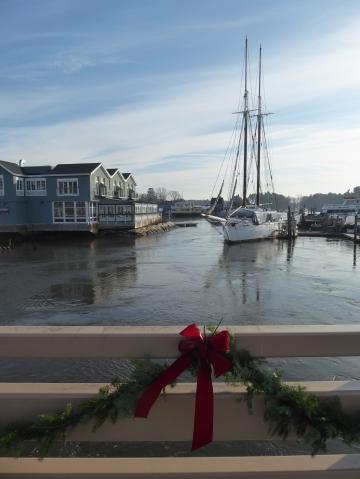 Christmas comes to Kennebunkport, Maine