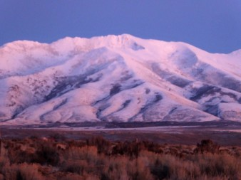 Along Interstate 80, Nevada