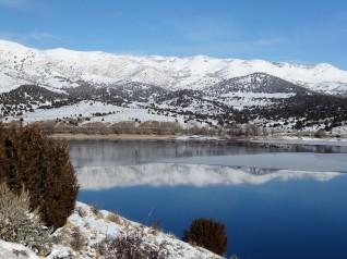 Utah, near the Wyoming border