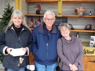 Gail, Stan and Marsha