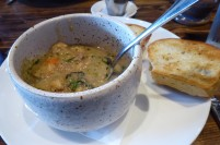 A delicious chowder for a chilly day...