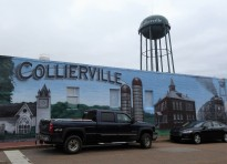 Mural, Downtown Collierville