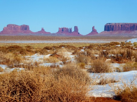 A different view of Monument Valley