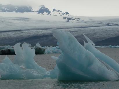 Jokusarlon... iceberg parade