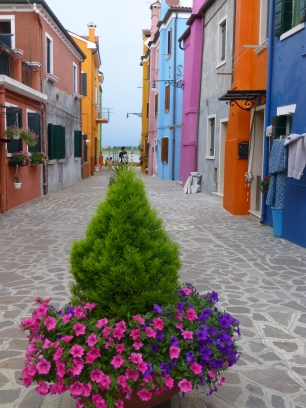The colorful island of Burano, Venice