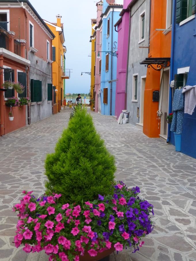 The colorful island of Burano, Venice