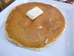 """""""only"""" a single pancake on the side!"""