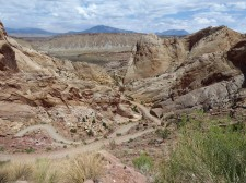 Switchbacks on Burr Trail